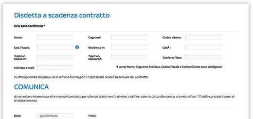 Fac Simile Disdetta Contratto Software Linoabrands